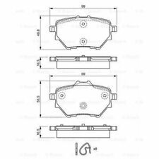 BOSCH Brake Pad Set, disc brake 0 986 494 716