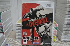 The House of The Dead OVERKILL (SEGA) VERSIÓN PAL NINTENDO Wii / Wii U COMPLETO!