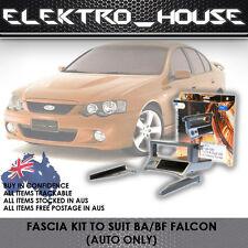 FORD FALCON BA / BF FACIA KIT RADIO STEREO INDASH MOUNTING POCKET WITH USB