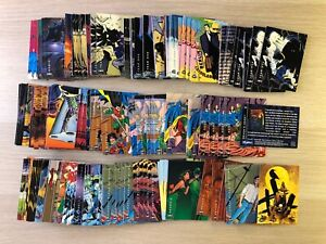 Batman: Saga of the Dark Knight Trading card Base set single cards Skybox 1994