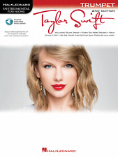 TAYLOR SWIFT-INSTRUMENTAL PLAY-ALONG-TRUMPET MUSIC BOOK/AUDIO ACCESS-NEW ON SALE