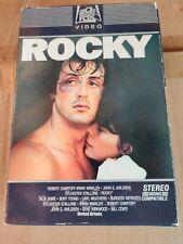 Rocky VHS stereo slider box  Sylvester Stallone 20th century Fox