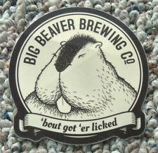 Big Beaver Brewing Sticker/Decal Loveland Colorado Micro/Craft Beer Brewery New