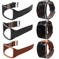 Genuine Leather Replacement Band Wrist Watch Strap For Samsung Gear S SM-R750