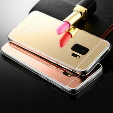 Luxury Bling TPU Soft Mirror Gel Back Case Cover For Samsung Galaxy S9 S8Plus A8