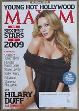 HILARY DUFF January 2009 MAXIM Magazine BLAKE LIVELY HAYDEN PANETTIERE RIHANNA