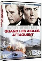 QUAND LES AIGLES ATTAQUENT CLINT EASTWOOD  DVD  NEUF SOUS CELLOPHANE