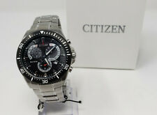 Citizen Eco-Drive Dial Stainless Steel Men's Watch At2358-51e perpetual calendar