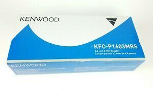"""Kenwood KFC-P1603MRS Marine Component Speaker System 6.5"""" Polypropylene Woofer"""
