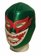 Verde Tiburón Máscara de lucha Adulto Luchador LIBRE MEXICANO Disfraz