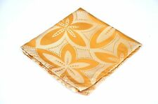 Lord R Colton Masterworks Pocket Square - Sun Gold Pearl Drones - Silk New