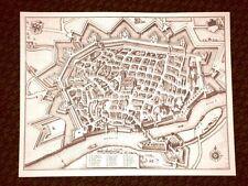 Ulma - Ulm Germania Incisione di Merian Matthäus del 1640 Ristampa