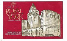 TORONTO ONTARIO Royal York Hotel