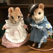 R John Wright Mouse Suitor and May Mice Artist Proof MIB Rare