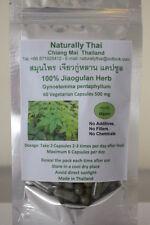 Orgánicos jiaogulan Hierba - 500mg X 180 Cápsulas Veg-Gynostemma Pentaphyllum