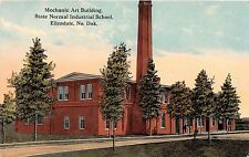 North Dakota postcard Ellendale Mechanic Art Building State Normal Indust School