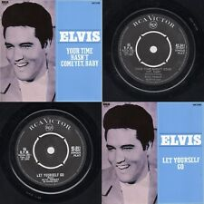 """South Africa Elvis Presley""""Your Tim Hasn't Come Yet Baby"""" RCA Victor 42-041 1968"""