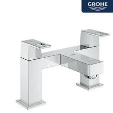 Grohe Eurocube Modern Bathroom Bath Tub Filler Mixer Chrome Deck Mounted Tap