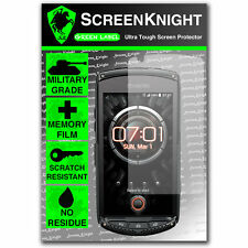 ScreenKnight Kyocera Torque FRONT SCREEN PROTECTOR invisible Military shield