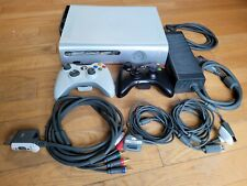 Xbox 360 White Console w/ 2 Wireless Controllers and Gears of War 2 Disc