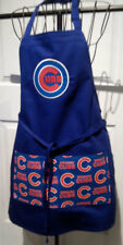 New listing Chicago Cubs -Bbq Kitchen Apron - Handmade to order - Embroidered - Unisex -