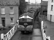 PHOTO  1975 CIE'S A CLASS DIESEL LOCO TRAIN A50R LEAVING CLAREMORRIS STILL IN TH