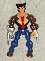 "Logan/Wolverine 6"" Action Figure Marvel Super Hero Mashers X-Men"