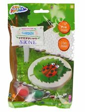 Ladybird Enfants Moule et Peinture Jardin Decor Stepping Stone Fairy À faire soi-même Craft Jouets