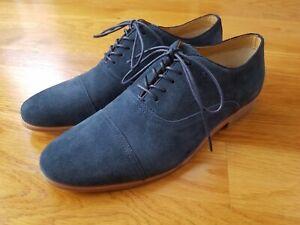Aldo Blue Suede Dress Shoe Widsith Men's 9 46349769