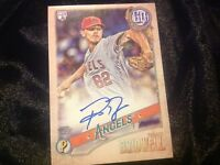 2018 Gypsy Queen Parker Bridwell RC Rookie On card Autograph Los Angeles Angels