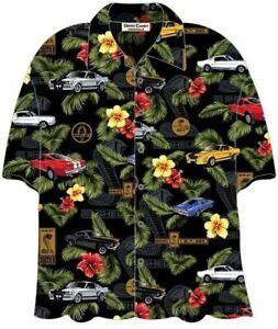 Shelby GT350 & GT500 Mustang Hawaiian Shirt - A High Quality Camp Shirt - LOOK!