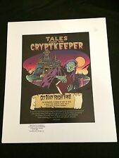 TALES FROM THE CRYPTKEEPER Limited Edition Portfolio #244/850 w/5 Drawings