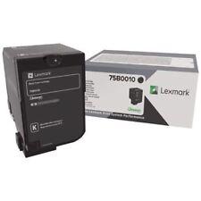 Original Lexmark 75B0010 Toner schwarz  CS727de CS728de CX727 A-Ware