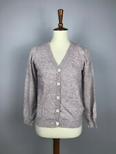 A.P.C. Rue Madame Paris Women's Cotton Linen Knit Cardigan Sweater M Medium