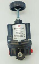 Fairchild Hiller Kendall Model 10 Pressure Regulator Max 500 5 30 Range