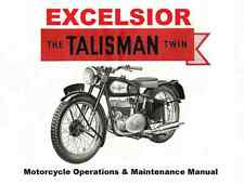 New listing Excelsior Roadmaster Universal Talisman Twin Manual w/ Motorcycle Service Repair