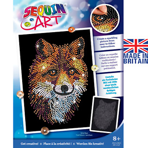 Sequin Art 1934 Red Fox DIY Craft Kit From The Blue Range