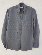 Herrenhemd Oberhemd Langarmhemd Hemd grau Canda  Gr M