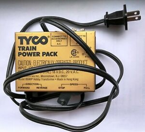 Vintage Tyco HO Electric Power Pack Model Train Transformer Model 899BP
