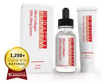 NEW Anti Wrinkle Aging ARGIRELINE Skin Serum & Eye Cream Set, Guaranteed Try Now