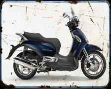 Aprilia Scarabeo 500 13 01 A4 Metal Sign Motorbike Vintage Aged