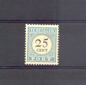 NETHERLANDS POSTAGE DUE # P II - D III --CV ( € 1900 ) ** - MNH VF IS A FAKE !!