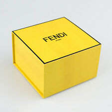 "Authentic Fendi Jewellery Jewel Bracelet Empty Box 4.5"" x 4.5"" x 4.5"""