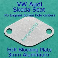 EGR blanking plate VW T4 T5 R5 R6 SEAT SKODA AUDI VOLVO PD engines Only Block A3