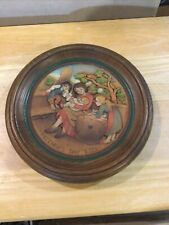 anri wood carved Collector Plates- Mother's Day 1973