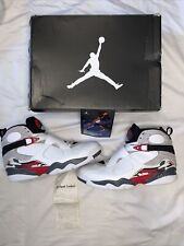 Air Jordan 8 Retro White 2013 Bugs Bunny - 305381 103 - Size 12