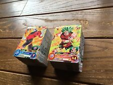 NEW LOT 190pcs DRAGON BALL HEROES TRADING CARDS SET 44 RARE & 2 PROMO included