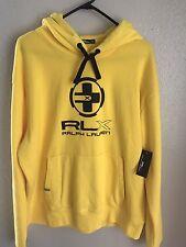 Ralph Lauren RLX Hoodie Size XXL NWT Yellow/Black