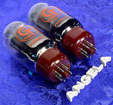 Matched Pair (2) Groove Tubes GT-KT66-C Both 34mA Brand New Tested & Guaranteed