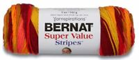 Bernat Super Value Stripes Yarn - Save up to 10% when you buy more